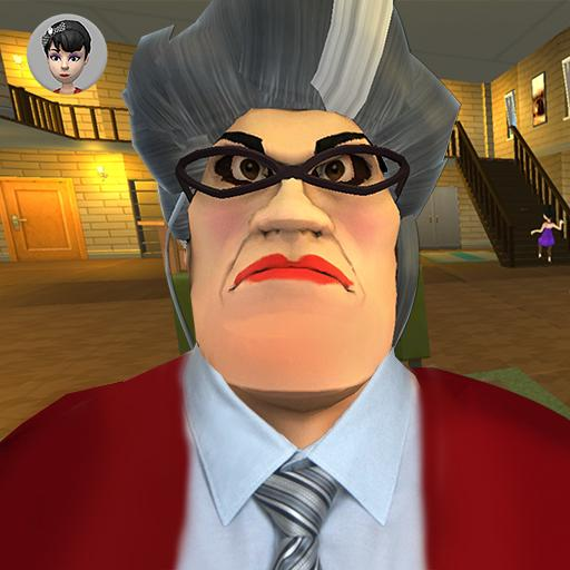 Scary Evil Teacher 3D Game Creepy Spooky Game 2020  (Unlimited money,Mod) for Android