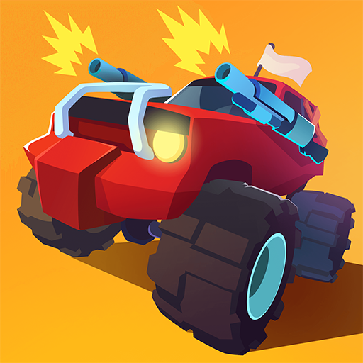 Smash racing: drive from cops, make an epic crash!  (Unlimited money,Mod) for Android