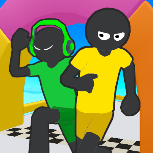 Stickman Fall | Running Stick Guys 3D  (Unlimited money,Mod) for Android