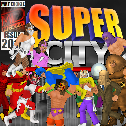 Super City (Superhero Sim) 1.240 (Unlimited money,Mod) for Android