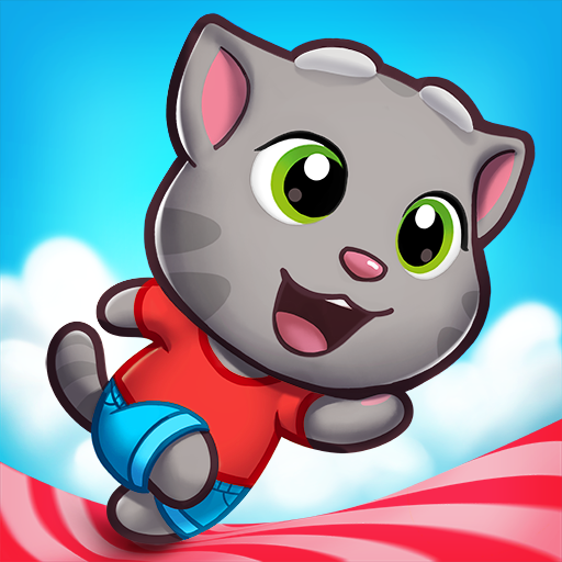 Talking Tom Candy Run 1.6.1.372 (Unlimited money,Mod) for Android