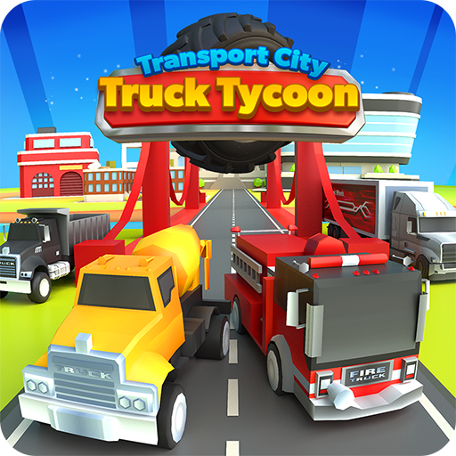 Transport City: Truck Tycoon  (Unlimited money,Mod) for Android