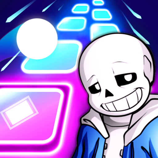 Undertale Theme Song Magic Beat Hop Tiles  (Unlimited money,Mod) for Android
