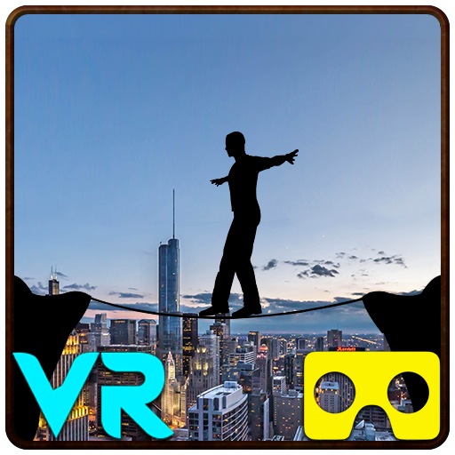 VR City View Rope Crossing – VR Box App 1.9 (Unlimited money,Mod) for Android