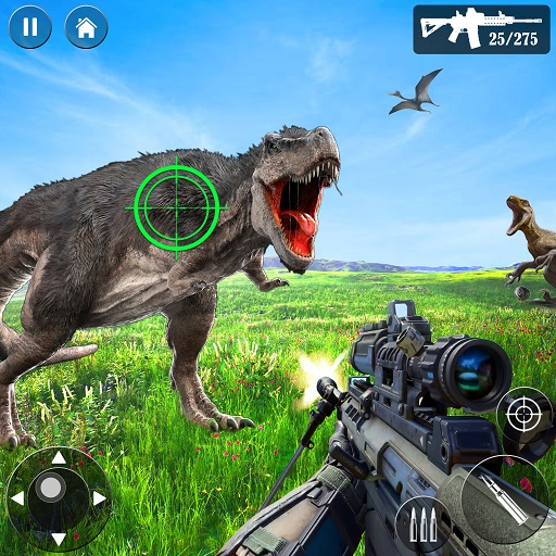 Wild Dino Hunt :Wild Animal Hunting Shooting Games 1.4 (Unlimited money,Mod) for Android