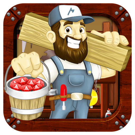 Wood Shop Builder (Unlimited money,Mod) for Android
