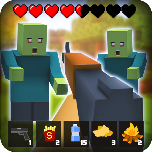 Zombie Craft Survival 3D: Free Shooting Game  45 (Unlimited money,Mod) for Android