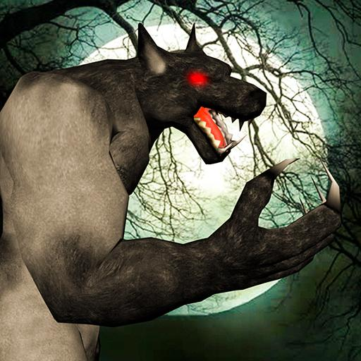 jungle werewolf monster rpg -bigfoot forest hunter  (Unlimited money,Mod) for Android