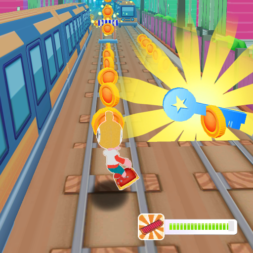 subway runner surf- Train Endless racing 1.1.1 (Unlimited money,Mod) for Android
