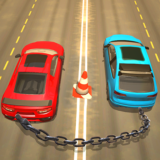 Chained Car Racing Games 3D  (Unlimited money,Mod) for Android