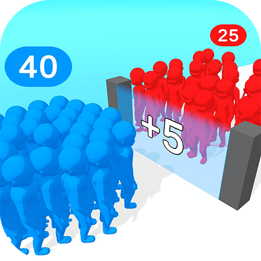 Crowd Multiplier 3D  (Unlimited money,Mod) for Android