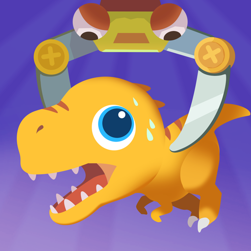 Dinosaur Claw Machine – Games for kids  (Unlimited money,Mod) for Android
