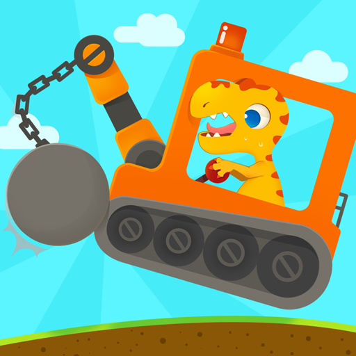 Dinosaur Digger 3 – Truck Simulator Games for kids  (Unlimited money,Mod) for Android