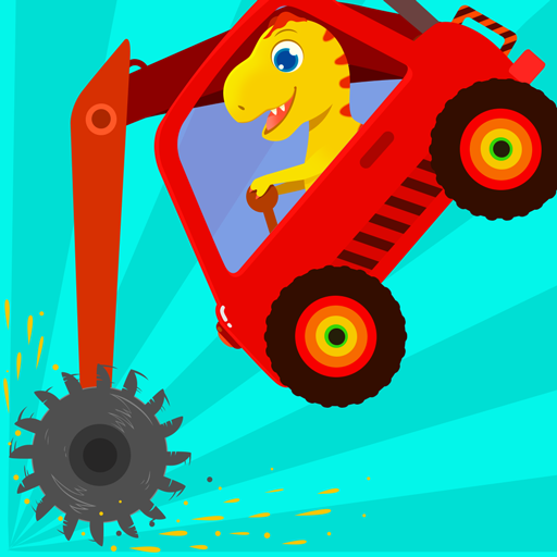Dinosaur Digger – Truck simulator games for kids  (Unlimited money,Mod) for Android