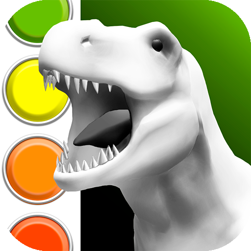 Dinosaurs 3D Coloring Book  (Unlimited money,Mod) for Android