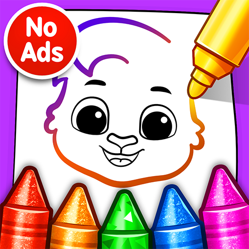 Drawing Games Draw & Color For Kids  1.0.4 (Unlimited money,Mod) for Android