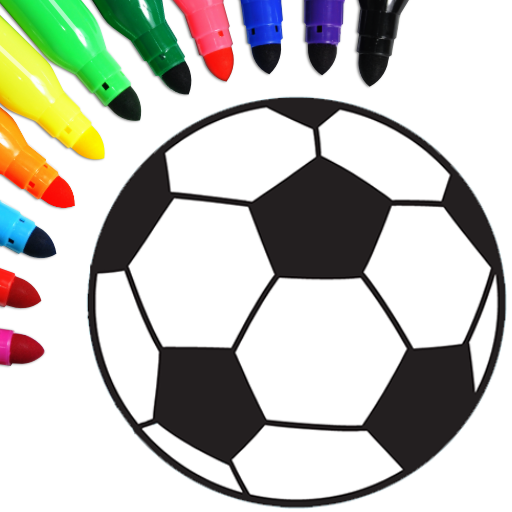 Football coloring book game  16.2.6 (Unlimited money,Mod) for Android