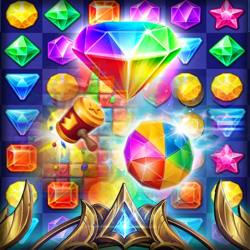 Jewel Quest : Match 3  (Unlimited money,Mod) for Android