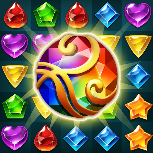 Jewels Atlantis: Match-3 Puzzle matching game  12 (Unlimited money,Mod) for Android