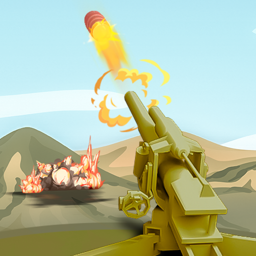 Mortar Clash 3D: Battle Games  (Unlimited money,Mod) for Android