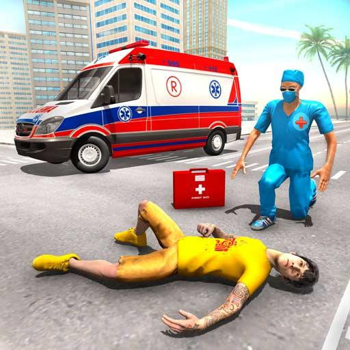 Police Ambulance Games: Emergency Rescue Simulator  (Unlimited money,Mod) for Android
