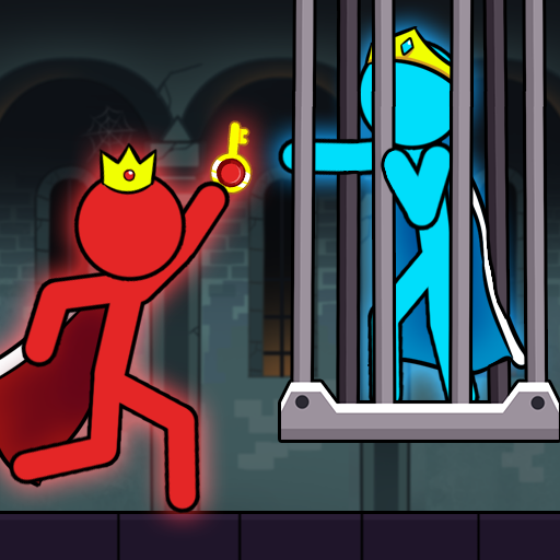 Red And Blue Stickman  (Unlimited money,Mod) for Android