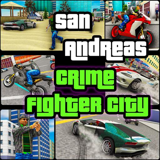 San Andreas Crime Fighter City  (Unlimited money,Mod) for Android