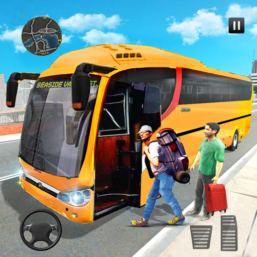 Super Coach Driving 2021 : Bus Free Games 2021  (Unlimited money,Mod) for Android