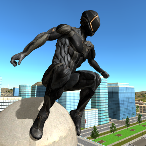 Super Hero Rope Crime City (Unlimited money,Mod) for Android