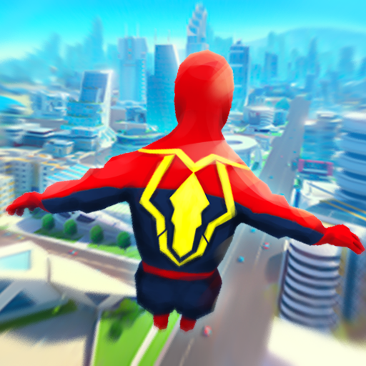 Super Heroes Fly: Sky Dance – Running Game  (Unlimited money,Mod) for Android