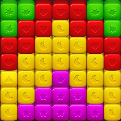 Toy Cubes Blast:Match 3 Puzzle Games  (Unlimited money,Mod) for Android