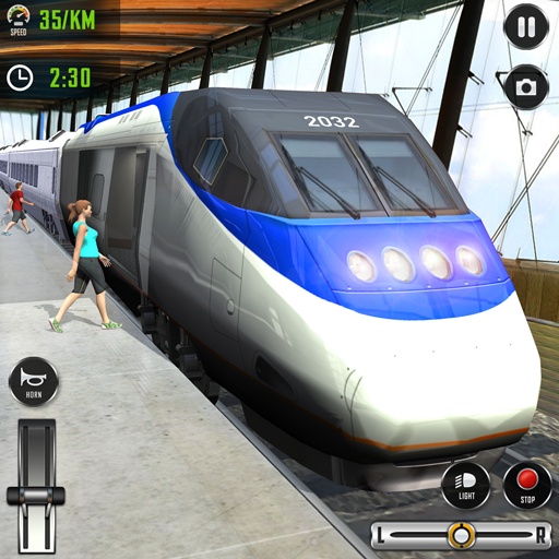 Train Driving Simulator 2020: New Train Games  (Unlimited money,Mod) for Android