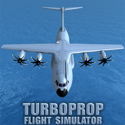 Turboprop Flight Simulator 3D  1.26 (Unlimited money,Mod) for Android