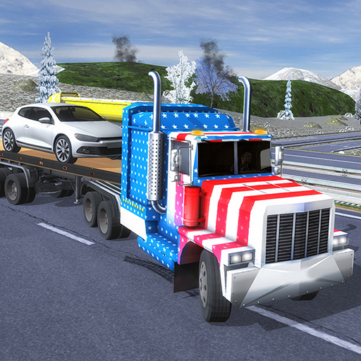 American Truck Driver Simulator- Cargo Truck Game  (Unlimited money,Mod) for Android