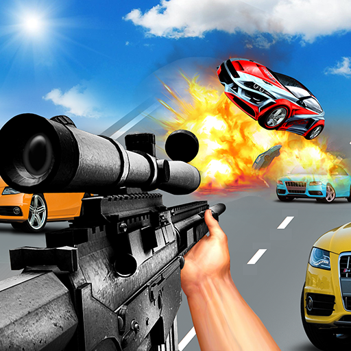 Car Racing Sniper Vs Thieves – Shooting Race games  (Unlimited money,Mod) for Android