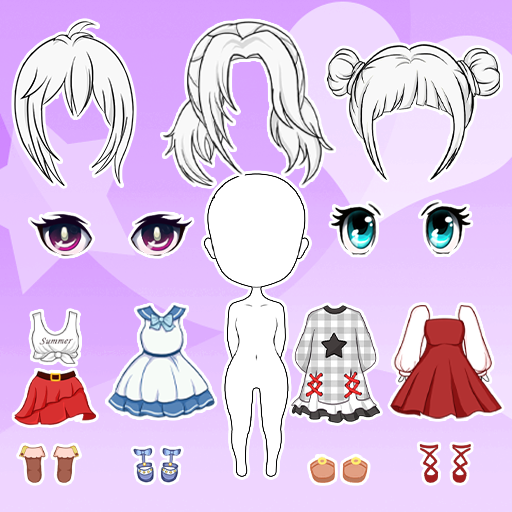 Chibi Dolls: Dress up Games & Avatar Creator  (Unlimited money,Mod) for Android