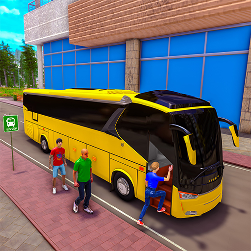 City Coach Bus Driving Simulator: Free Bus Game 21  (Unlimited money,Mod) for Android