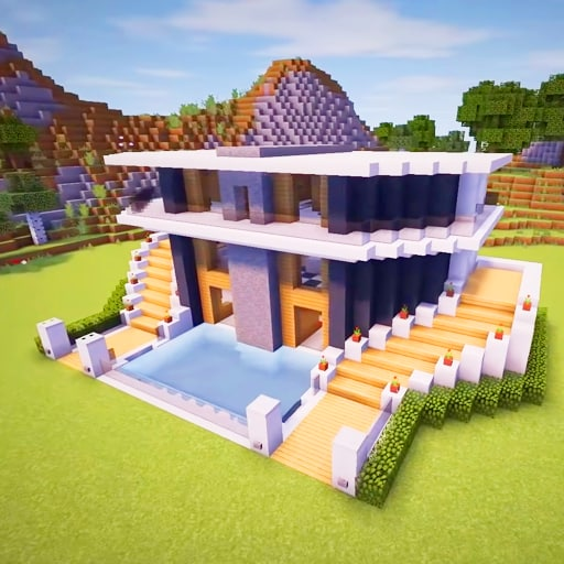Craft World – Master Building Block Game 3D  (Unlimited money,Mod) for Android
