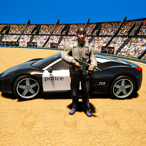 Derby Police Car Arena Stunt: Gangster Fight Game  (Unlimited money,Mod) for Android