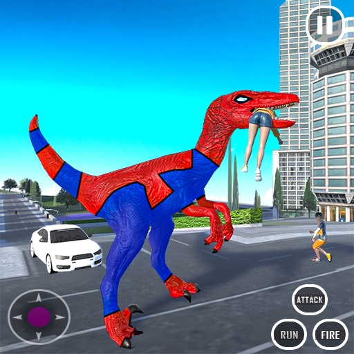 Extreme City Dinosaur Smash Battle Rescue Mission  (Unlimited money,Mod) for Android