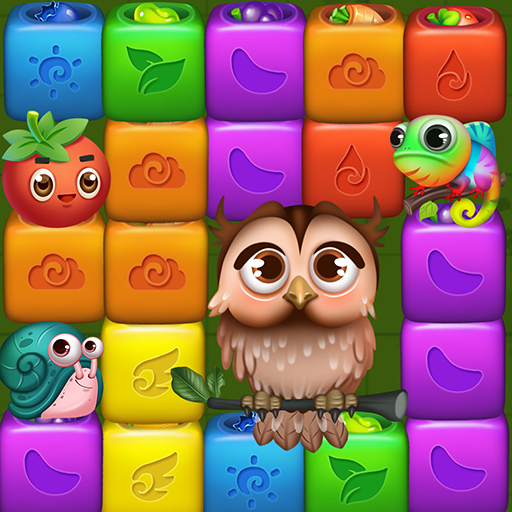 Fruit Funny Blocks: farm cubes day  (Unlimited money,Mod) for Android