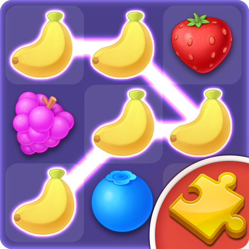 Fruit Jigsaw: Link Blast  (Unlimited money,Mod) for Android