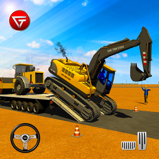 Heavy Excavator Machines: Transporter Truck Games  (Unlimited money,Mod) for Android