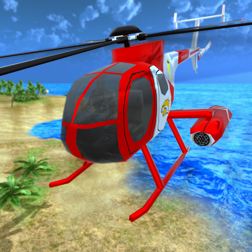 Helicopter Rescue Flying Simulator 3D  (Unlimited money,Mod) for Android