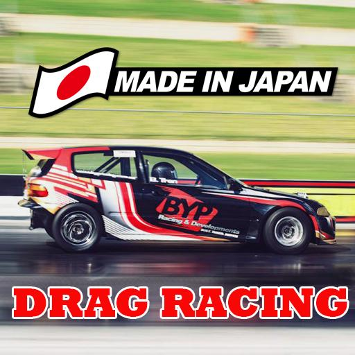 Japan Drag Racing 2D  (Unlimited money,Mod) for Android