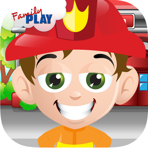 Kids Fire Truck Fun Games  (Unlimited money,Mod) for Android