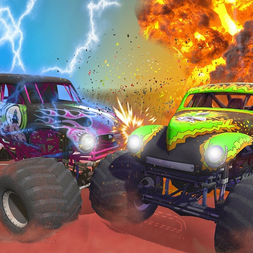 Mad monster truck challenge game 2021  (Unlimited money,Mod) for Android