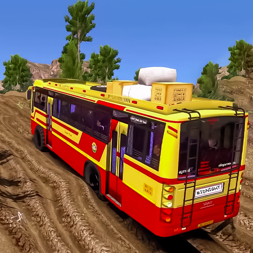 Offroad Coach Simulator : Offroad Bus Games 2021  (Unlimited money,Mod) for Android