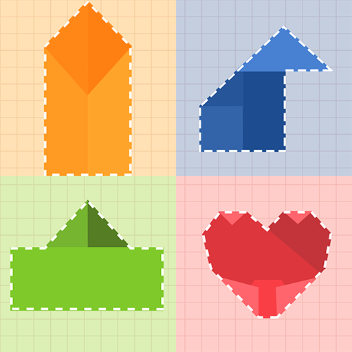 Paper Folding Puzzle  (Unlimited money,Mod) for Android