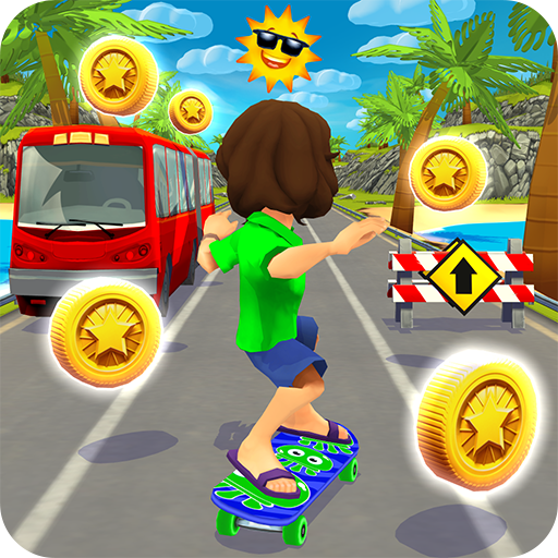 Skater Rush – Endless Skateboard Game (Unlimited money,Mod) for Android